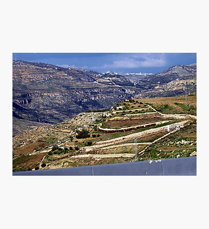 Landscape in Jordan Photographic Print