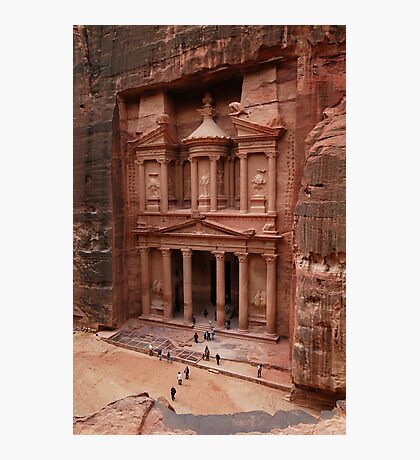 'The Treasury' in Petra, Jordan Photographic Print