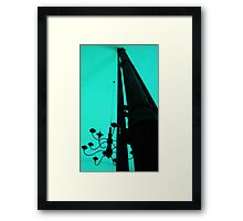 Flu and Candelabra Framed Print