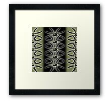 polarity Framed Print