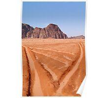 Wadi Rum, Jordan Poster