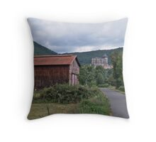 Saint-Bertrand-de-Comminges Throw Pillow