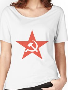 Soviet Union symbol Women's Relaxed Fit T-Shirt