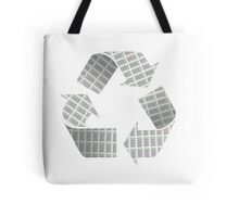 Recycle Newspaper Symbol Tote Bag