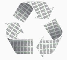 Recycle Newspaper Symbol Kids Clothes