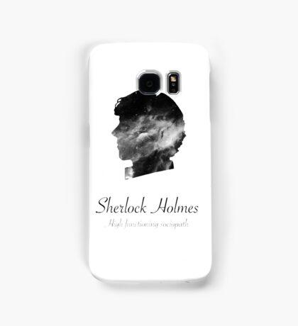 Sherlock Holmes, high functioning sociopath Samsung Galaxy Case/Skin