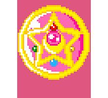 Pixel Sailor Moon Crystal Compact Photographic Print