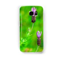 Lavender Two Flowers Samsung Galaxy Case/Skin