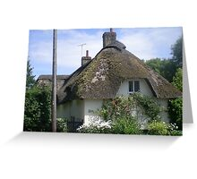 Country cottage in Dorset Greeting Card