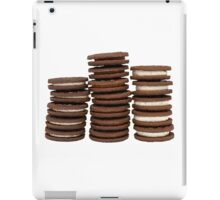 Chocolate Biscuits in Three Piles iPad Case/Skin