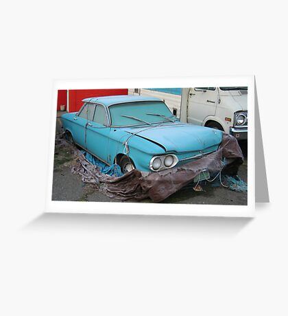 Americana • Corvair • Orofino, Idaho Greeting Card