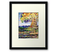 TREE IN THE MIDST Framed Print