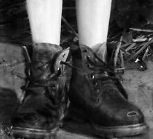 Workmans boots by Pete Simmonds