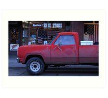 Americana • Murray's shoe store, Orofino Idaho Art Print