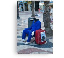 Off My Face Canvas Print