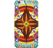Flamboyant Solar Fleurs (OverFlowered version) iPhone Case/Skin