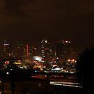 San Diego Skyline by Voytek Swiderski