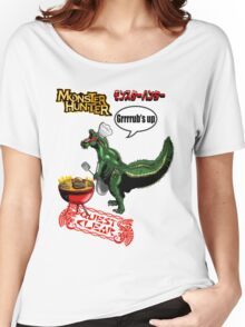 Monster Hunter Grub's up BBQ Women's Relaxed Fit T-Shirt