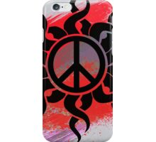Cool Peace Sign with Paint - T Shirts Art Prints and Stickers iPhone Case/Skin