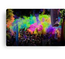 colour explode Canvas Print