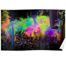 colour explode Poster