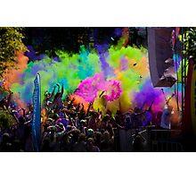 colour explode Photographic Print
