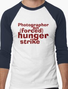 Hungry Photographer Men's Baseball ¾ T-Shirt
