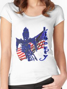 Liberty  Women's Fitted Scoop T-Shirt
