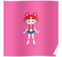 Sailor Chibi Chibi Moon Poster