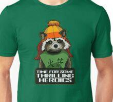 Raccoon finds Serenity Unisex T-Shirt