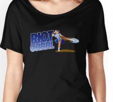 Riot grrrl Women's Relaxed Fit T-Shirt