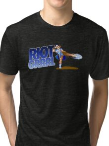 Riot grrrl Tri-blend T-Shirt
