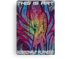 Firegirl Canvas Print
