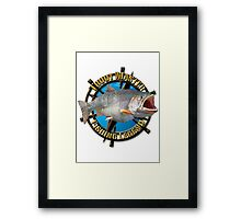 Trout master  Framed Print
