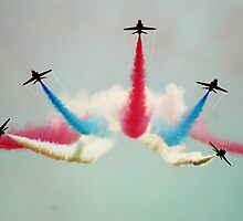 Red Arrows by Vicki Isted