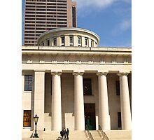 State House, Columbus, Ohio Photographic Print