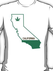 California The Green State T-Shirt