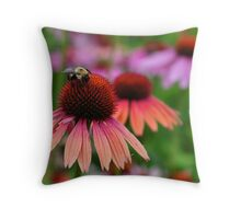 Bee Haven Throw Pillow