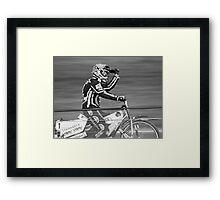 Freddie Lindgren speedway  Framed Print