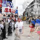 Piccadilly Circus by Zuzana D Photography