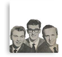 Buddy Holly, The Crickets Canvas Print