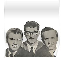 Buddy Holly, The Crickets Poster