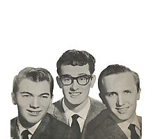 Buddy Holly, The Crickets Photographic Print