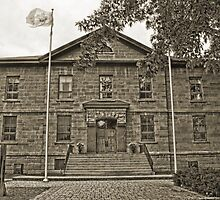 Cornwall Jail, Cornwall, Ontario by Mike Oxley