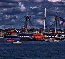 USS Constitution  by LudaNayvelt