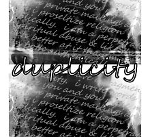 duplicity by Marie Monroe