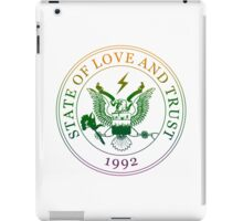 State of Love and Trust iPad Case/Skin