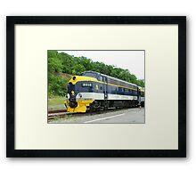 Old Commuter Train Framed Print