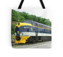 Old Commuter Train Tote Bag