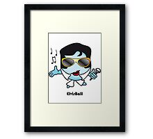 Elvis Ball Framed Print